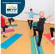 Monitor de aeróbic y step para la tercera edad