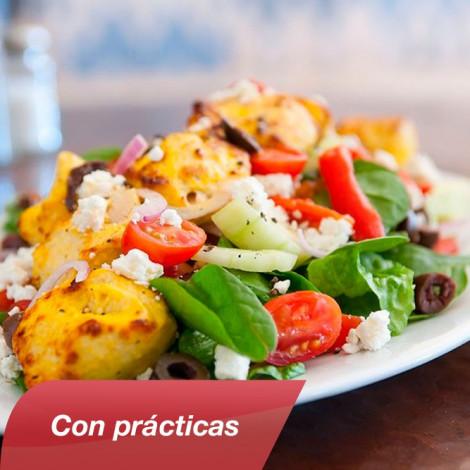 Curso de cocina mediterr nea con pr cticas cursos delena for Practicas de cocina