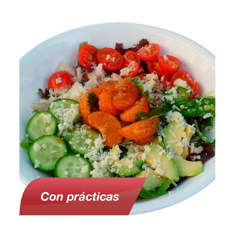 Curso de cocina vegetariana con pr cticas cursos delena for Practicas de cocina