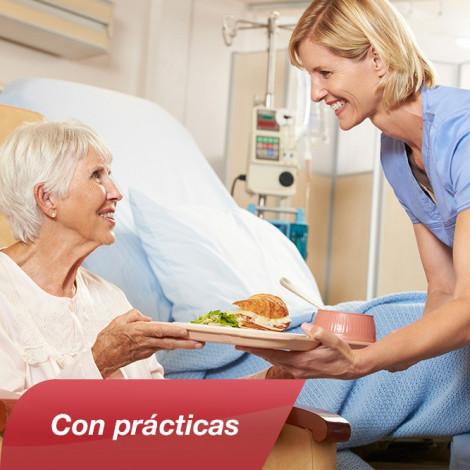 Curso de Atención del Auxiliar de Enfermería en Geriatría: Recursos Sociosanitarios y Salud Mental con Prácticas