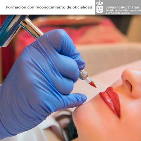 Curso de Tatuaje y micropigmentación profesional + kit micropigmentación