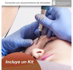 Curso de Micropigmentación con higiene, seguridad y salud + Kit