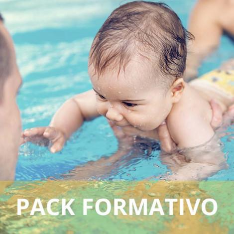 Pack formativo de Monitor de estimulación acuática para bebés + Inglés deportivo