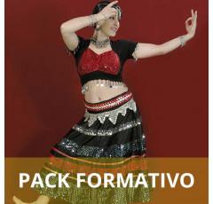 Pack formativo de Monitor de danza Bollywood + Nutrición deportiva