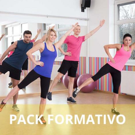 Pack formativo de Aerobic y step + Nutrición deportiva