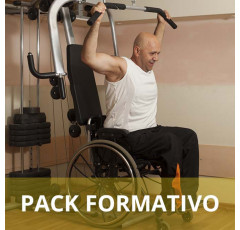 Pack formativo de Actividades físicas y deportes adaptados para personas con discapacidad + Inglés deportivo