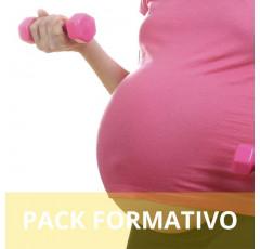 Pack formativo de Entrenador personal de la mujer en el embarazo y postparto + Inglés deportivo