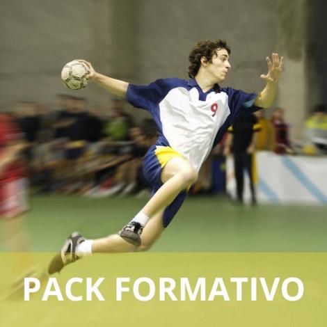 Pack formativo de Entrenador de balonmano + Nutrición deportiva
