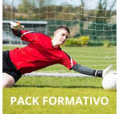 Pack de formativo de Entrenador de porteros de fútbol base + Inglés deportivo