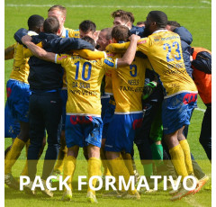Pack formativo de Entrenamiento de equipos deportivos + Inglés deportivo