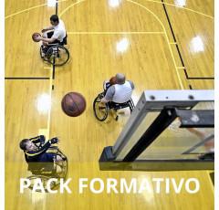 Pack formativo de Monitor de actividad física para personas con discapacidades + Nutrición deportiva