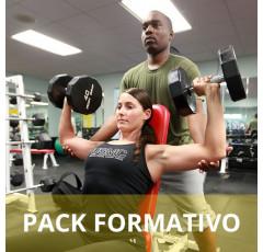 Pack formativo de Monitor de musculación y fitness + Nutrición deportiva