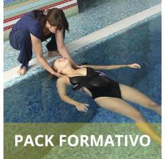 Pack formativo de Monitor de actividades acuáticas para discapacitados y embarazadas + Inglés deportivo