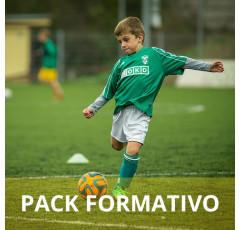 Pack formativo de Monitor de fútbol base + Nutrición deportiva