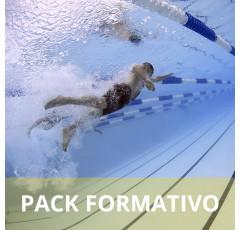 Pack formativo de Natación para adultos + Nutrición deportiva