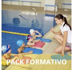 Pack formativo de Natación para niños + Nutrición deportiva