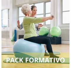 Pack formativo de Pilates para rehabilitación + Nutrición deportiva