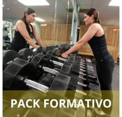 Pack formativo de Acondicionamiento físico en sala de entrenamiento + Nutrición deportiva