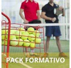 Pack formativo de Monitor de pádel + Inglés deportivo