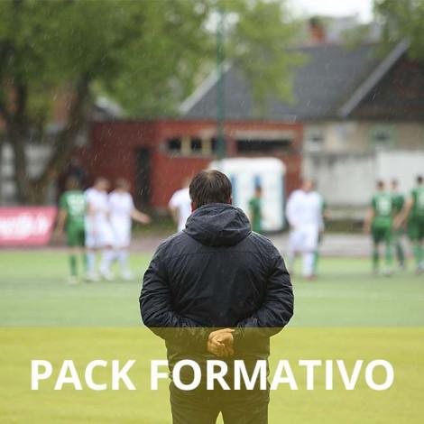 Pack formativo de Entrenador físico de fútbol + Nutrición deportiva