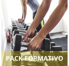 Pack formativo de Monitor musculación y fitness especialista en Nutrición deportiva + Inglés deportivo