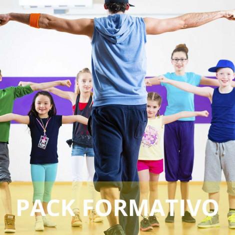 Pack formativo de Monitor deportivo + Nutrición deportiva
