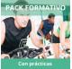 Pack formativo de Ciclo indoor + Nutrición deportiva con prácticas