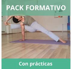Pack formativo de Yoga + Nutrición deportiva con prácticas