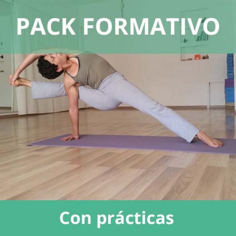 Pack formativo de Yoga + Inglés deportivo con prácticas