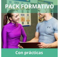 Pack formativo de Entrenador Personal + Inglés deportivo con prácticas