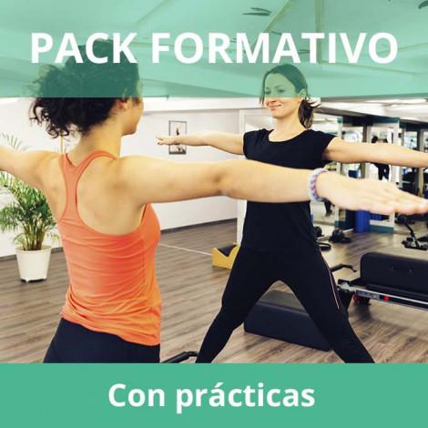 Pack formativo de Monitor de Pilates + Inglés deportivo