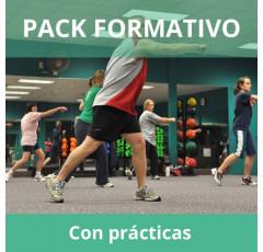 Pack formativo de Actividades físicas y deportes + Nutrición deportiva con prácticas