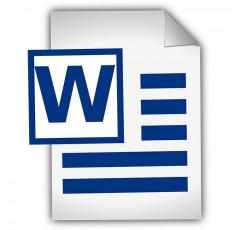 Curso de Correspondencia Comercial con Aplicaciones de Word.
