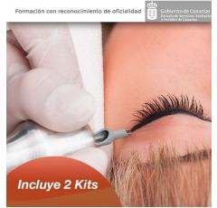 Curso de Tatuaje Profesional + Micropigmentación con dobles prácticas en Tarragona + Kits