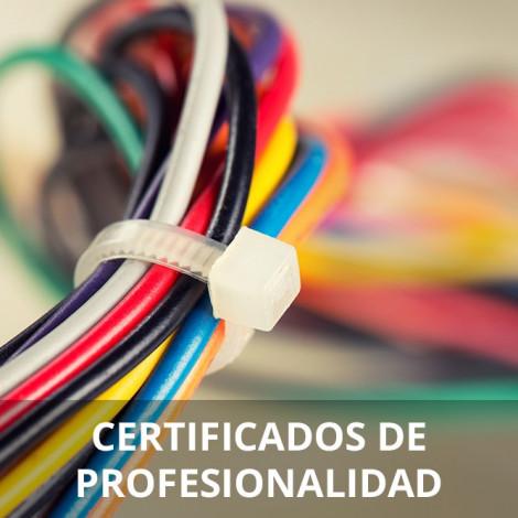 Curso de Montaje y Mantenimiento de Instalaciones Eléctricas de Baja Tensión certificado