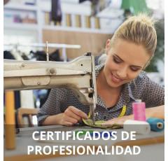 Curso de Arreglos y Adaptaciones de Prendas y Artículos en Textil y Piel certificado