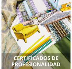 Curso de Operaciones Auxiliares de Tapizado de Mobiliario y Mural certificado