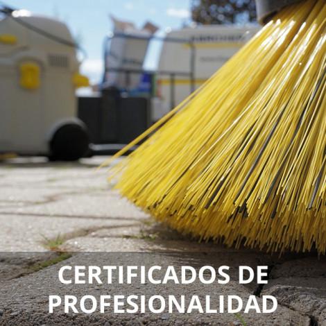 Curso de Limpieza en Espacios Abiertos en Instalaciones Industriales certificado