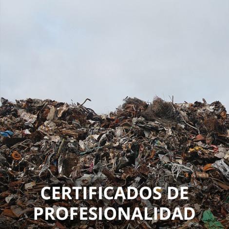 Curso de Gestión de Residuos Urbanos e Industriales certificado