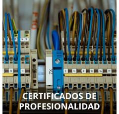 Curso de Operaciones Auxiliares de Montaje de Instalaciones Electrotécnicas y de Telecomunicaciones certificado