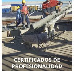Curso de Operaciones de Hormigón certificado
