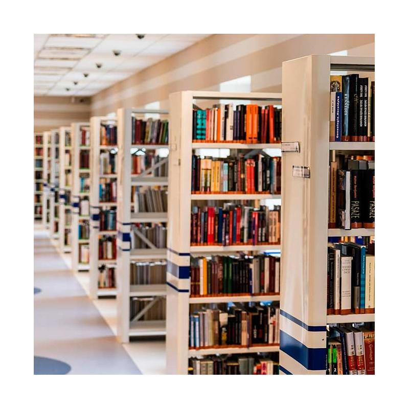 Curso de gesti n de bibliotecas cursos delena formaci n for Distancia entre estantes biblioteca