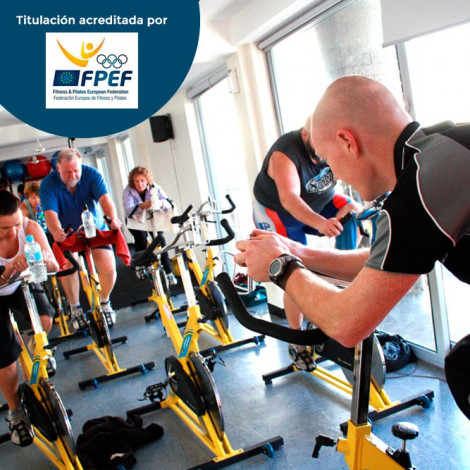 Instructor de Ciclo Indoor (spinning)